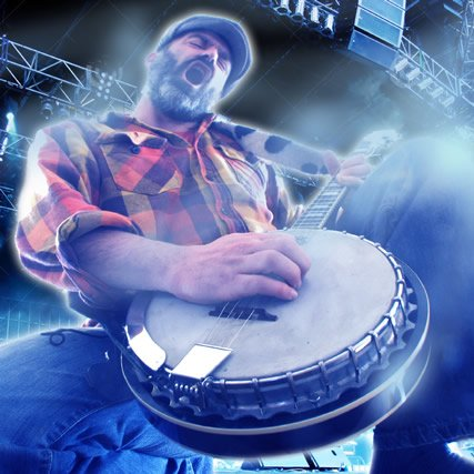 Banjo Guy Ollie, who records bluegrass covers of video game songs