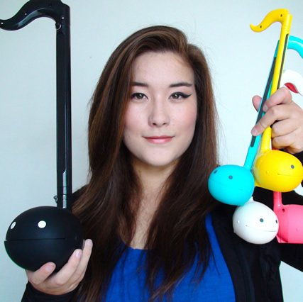 Mklachu, a video game musician who performs on Otamatone